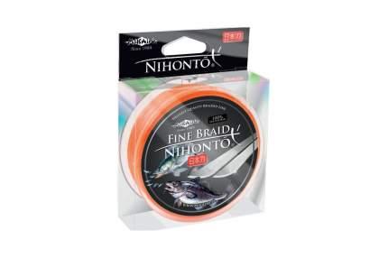 """Шнур плетёный Mikado """"Nihonto Fine Braid Orange"""", 0,18"""