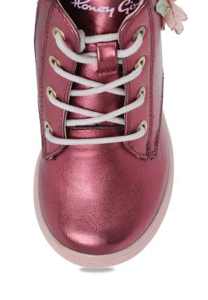 Ботинки детские Honey Girl, цв.бордовый р.29