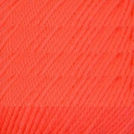 """Пряжа """"Детская новинка"""" 100% акрил (оранжевый), 50 грамм, 200 м. арт. 284 (10 мотков) ( 10"""