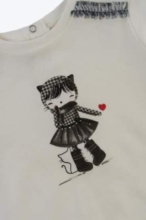 брюки для девочки Sarabanda, цв.белый, р-р 62