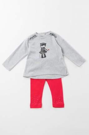 брюки для девочки Sarabanda, цв.красный, р-р 62