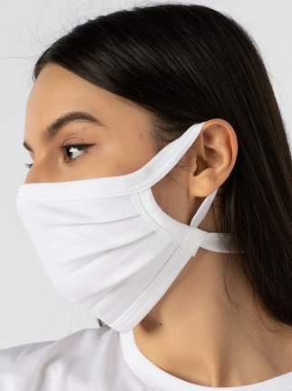 Многоразовая защитная маска НОВОЕ ВРЕМЯ Y001 белая 1 шт.