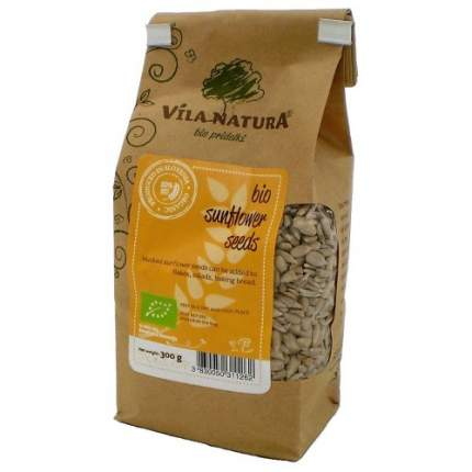 Семена подсолнечника очищеные био vila natura 3 пачки по 300г