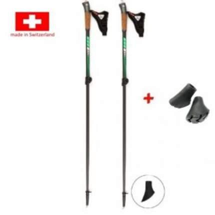 Палки для скандинавской ходьбы KV+ Maestro, зеленый, 100-125 см
