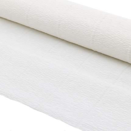 Бумага гофрированная простая 50см*2,5м 140гр 900 белая