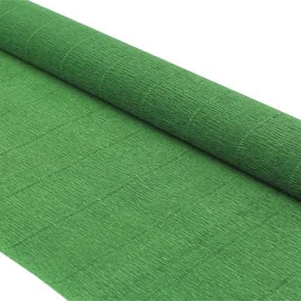 Бумага гофрированная простая 50см*2,5м 140гр 991 травяная