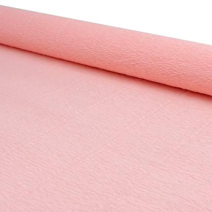 Бумага гофрированная простая, 50см*2,5м 140гр 948 светло-персиковая