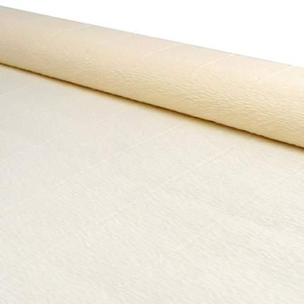 Бумага гофрированная простая 50см*2,5м 140гр 903 слоновая кость