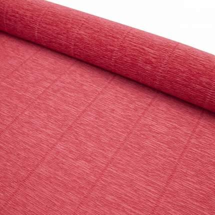 Бумага гофрированная простая, 180гр 17А/6 красный