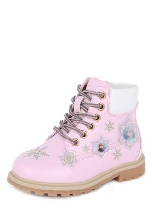 Ботинки детские Frozen, цв.розовый р.28
