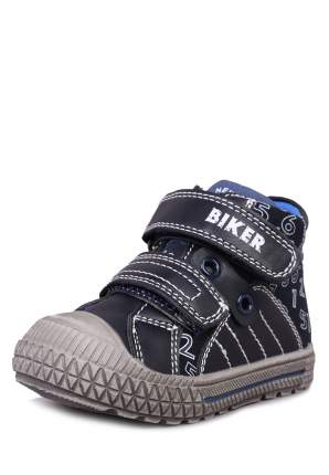 Ботинки детские Biker, цв.черный р.23