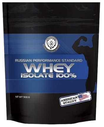 Изолят сывороточного белка RPS Nutrition Whey Isolate 100% (клубника), 500 г