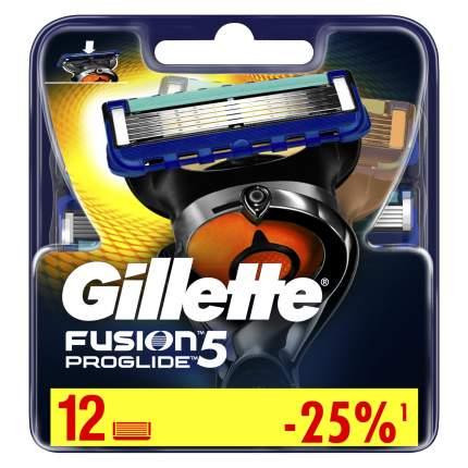 Сменные Кассеты Gillette Fusion5 ProGlide 12 шт