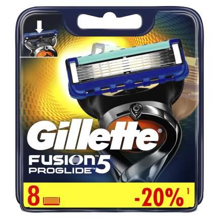 Сменные кассеты Gillette Fusion5 ProGlide 8 шт