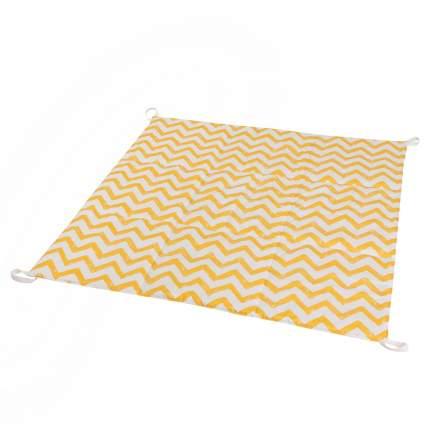Игровой стеганый коврик для вигвама VamVigvam Yellow Zigzag vv020119