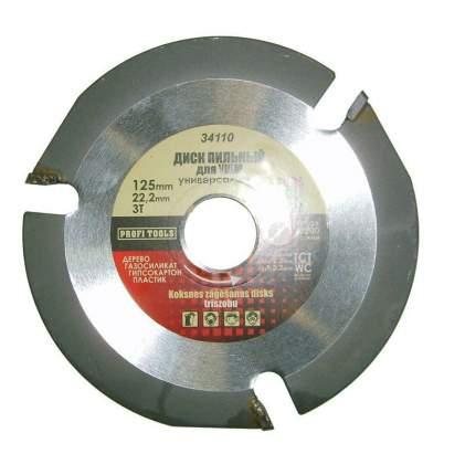 Пильный диск SKRAB Ф125х22мм 3зуб. (34110)