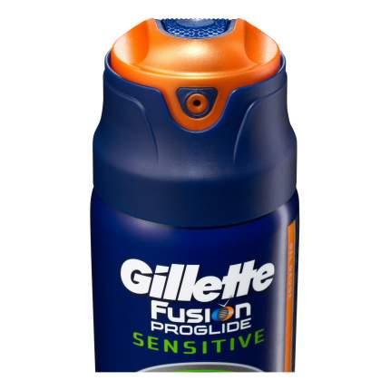 Гель для бритья Gillette Fusion proglide sensitive Active sport 200 мл
