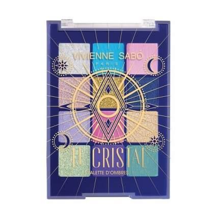 Палетка теней Vivienne Sabo Le Cristale, 12 оттенков