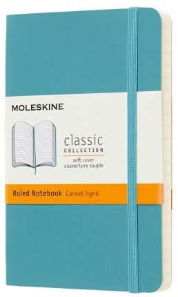 Блокнот Moleskine Classic Soft Pocket QP611B35 (Blue Reef)