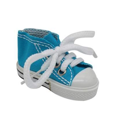 AR1059 Кеды со шнуровкой для брелка 7*4см синий