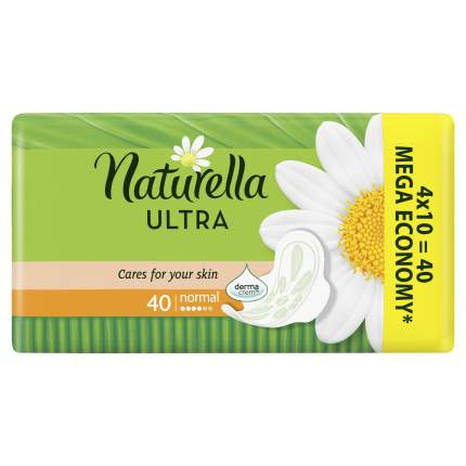 Прокладки Naturella Ultra Camomile Normal Quatro 40шт