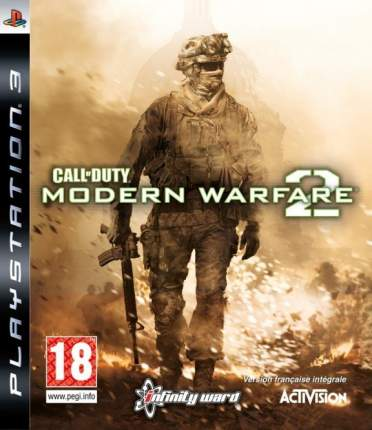 Игра Call Of Duty: Modern Warfare 2 для PlayStation 3