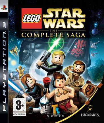 Игра Lego Star Wars The Complete Saga для PlayStation 3