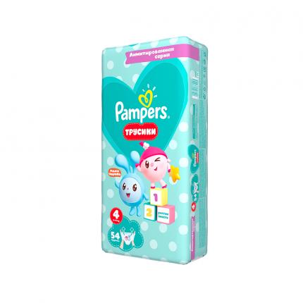 Подгузники-трусики Pampers Pants Малышарики Maxi (9-15 кг), 54 шт.
