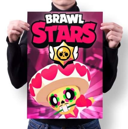 Плакат GOODbrelok BRAWL STARS 5 - А4