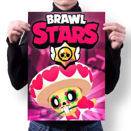 Плакат GOODbrelok BRAWL STARS 5 - А1