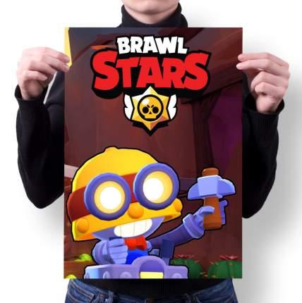 Плакат GOODbrelok BRAWL STARS 9 - А2