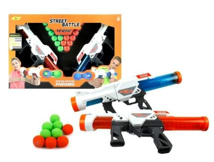 Набор игрушечного оружия 1 TOY Street Battle с мягкими шариками Т13652