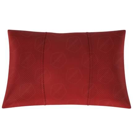 Подушка автомобильная AVTOLIDER1 Экокожа красный-красный