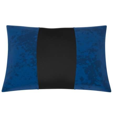 Подушка автомобильная AVTOLIDER1  синий-чёрный