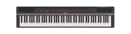 Цифровое пианино компактное Yamaha P-125 B