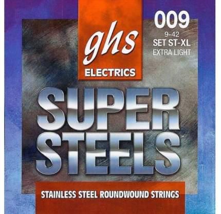 Струны для электрогитары GHS ST-XL