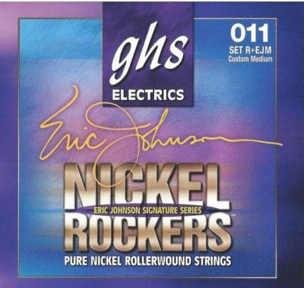 Струны для электрогитары GHS R+EJM