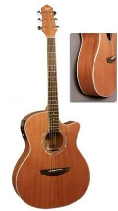 FLIGHT AG-300 CEQ NS Электроакустическая гитара шестиструнная