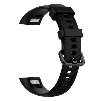 Силиконовый ремешок для Huawei Honor Band 4/5 Black