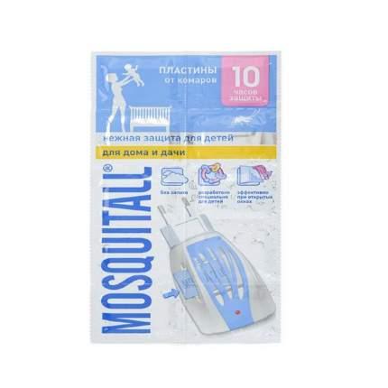 Пластины Mosquitall Нежная защита для детей от комаров 10 шт.