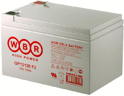 Аккумулятор для ИБП WBR GP12120WBR