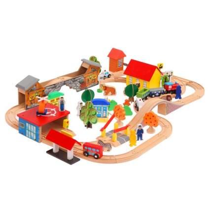 Железная дорога Shantou Gepai Загородная поездка 88 элементов 3098571