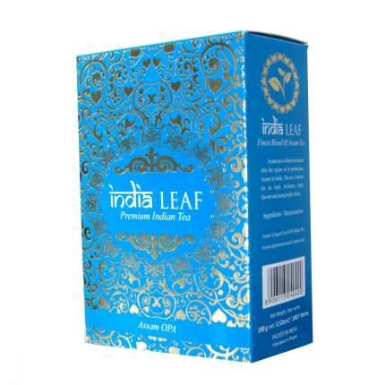 """Чай India leaf """"Ассам опа"""", черный крупнолистовой, 100 гр"""