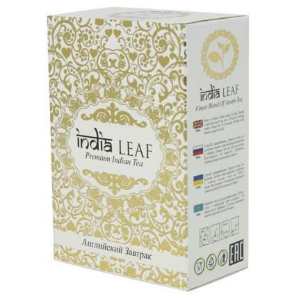 """Чай India leaf """"Английский завтрак"""", черный среднелистовой, 100 гр"""