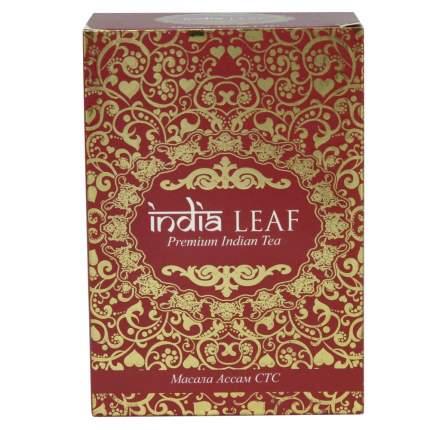 """Чай India leaf """"Масала Ассам стс"""", черный гранулированный с добавками, 100 гр"""
