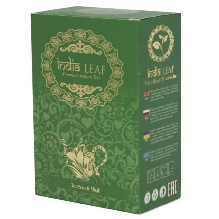 """Чай India leaf """"Класический"""", зеленый крупнолистовой, 100 гр"""
