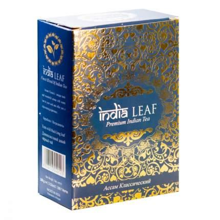 """Чай India leaf """"Ассам классический"""", черный среднелистовой, 100 гр"""