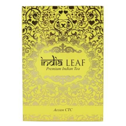 """Чай India leaf """"Ассам  стс"""", черный гранулированный, 100 гр"""
