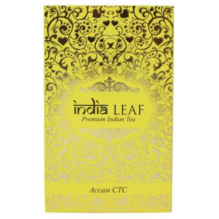 """Чай India leaf """"Ассам стс"""", черный гранулированный, 200 гр"""