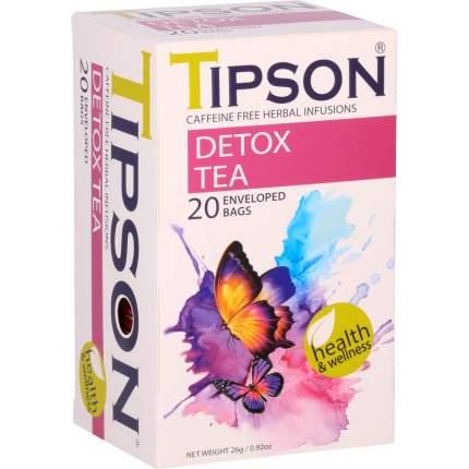 """Чай Tipson """"Detox tea"""", травяной, 20 пакетиков"""